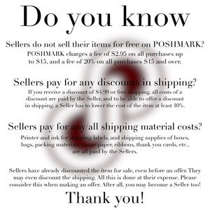 Other - Things you may not know about POSHMARK